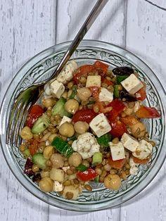 Salad Recipes, Vegan Recipes, Cooking Recipes, Plat Vegan, Coleslaw, Kung Pao Chicken, I Love Food, Summer Recipes, Vegan Vegetarian