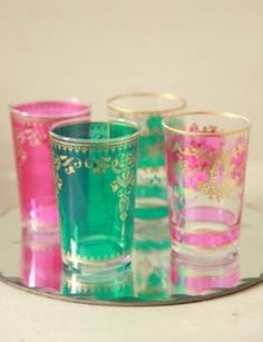 These beautiful glasses go in the bar till the girls come over! #beautifulswitch