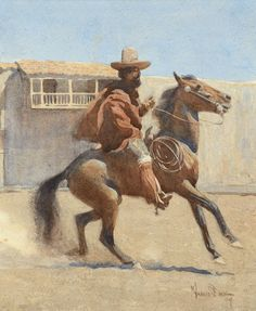 Maynard Dixon,   Ranchero of Old California (1904)      The Coeur d'Alene Art Auction