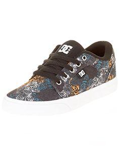 DC Women's Anvil Skate Shoe, Light Blue, 36 B(M) EU/3 B(M) UK