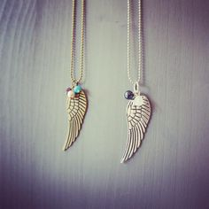 Wing necklaces