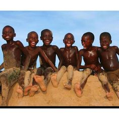 Angolan children ~ I love this picture :)