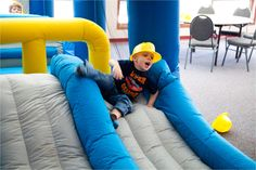 Every camp should have a bounce house!