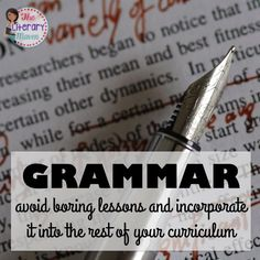 Middle and High School English Language Arts teachers discussed approaches to teaching grammar, topics covered, avoiding boring lessons, and incorporating grammar into other aspects of ELA curriculum. Join secondary English Language Arts teachers Tuesday evenings at 8 pm EST on Twitter.