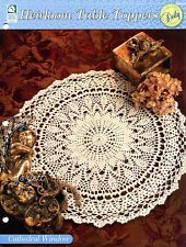 Cathedral Window Centerpiece Doily, Heirloom Table Toppers crochet pattern