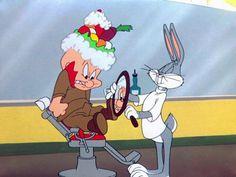 Elmer Fudd Bugs Bunny What's Opera Doc Looney Tunes Characters, Looney Tunes Cartoons, Classic Cartoon Characters, Old Cartoons, Classic Cartoons, Animated Cartoons, Disney Characters, Cartoon Crazy, Elmer Fudd