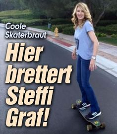 Steffi Graf, Oct 2017, Wimbledon, Tennis Players, Html, Skateboard, Queens, Celebs, Facebook