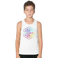 Coldplay Kids Tank Top