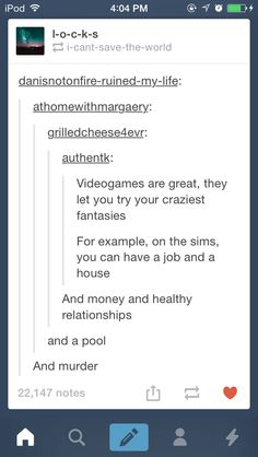 I would drown my ugly children in the pool. I still feel bad about this xD..