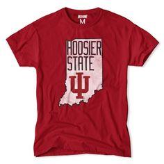 "Indiana University ""Hoosier State"" T-Shirt"