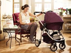 iCandy Cherry with carrycot in Mulberry