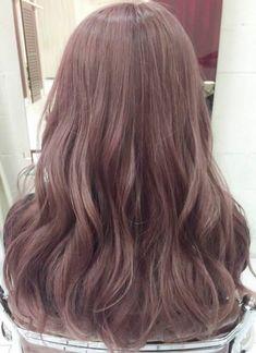 50 Ideas Nails Summer 2018 Beige For 2019 Ombre Hair, Pink Hair, Korean Hair Color, Stylish Haircuts, Hair Arrange, Aesthetic Hair, Permed Hairstyles, Hair 2018, Cool Hair Color