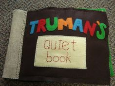 the *cutest* quiet book I've ever seen!