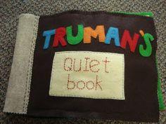 The cutest quiet book