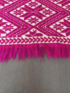 Camino de mesa bordado Chiapas 62