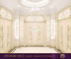 Stylish Hall Design!Look at this beautiful doors! Exquisite Molding! We try to understand your requirements and to design your environment accordingly! Contact us! Order your interior design now    #antonovichdesign#designluxury#abudhabi#dubaimarina#dubaitag#dubai#abudhabimall#designinspiration#interior#interiordesign#dubaitag#dubaimarina#arabicfurniture#majlis#uae#furniture#homedesign#housestyle#styledesign#light#home#house#molding#doordesign - Architecture and Home Decor - Bedroom…