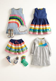 Somewhere over the rainbow...is an outfit she'll LOVE.