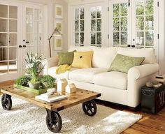love the coffee table! :)