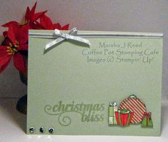 Coffee Pot Stamping Cafe: Sunday Christmas Card Challenge # 23