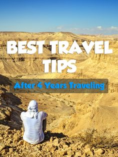 My best travel tips after 4 years traveling around the world. From what to pack to where to stay. Everything's covered! #travel #traveltips