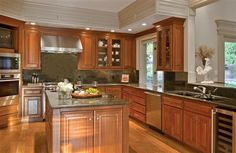 Kitchen decor, Kitchen designs, Kitchen decorating ideas - Is there anything this kitchen doesn't have?
