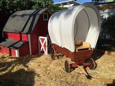 A personal favorite from my Etsy shop https://www.etsy.com/listing/245219050/covered-wagon