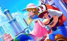 Super Mario Bros, Super Mario Kunst, Peach Mario, Mario And Princess Peach, Nintendo, Kawaii Cute, Kawaii Anime, Mario Und Luigi, Videogames