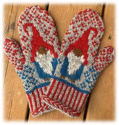 Mittens Pattern, Needles Sizes, Stockinette, Gnomes, Fingerless Gloves, Reindeer, Ravelry, Stitch, Wool