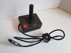 Vintage Video Game Gaming Console 1980s Atari  Joy Stick Console, Vintage Video Games, 1980s, Gaming, Joy, Videogames, Glee, Game, Being Happy