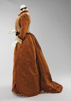 House of Worth (French, 1858–1956)  Dress, Dinner (Side)  1897–1900
