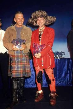 Foc Kan© Jean Paul Gaultier et John Galliano Kings of the Look aux Venus de La Mode ! Fin années 90