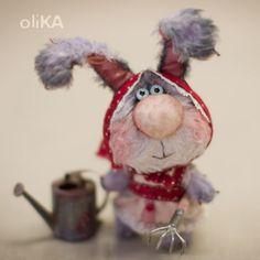 Мишки Тедди ручной работы: Зайка Аленушка. Handmade.