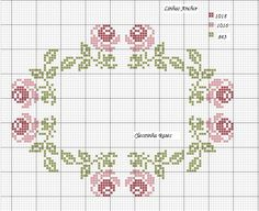 The Most Beautiful Cross Stitch Pattern Just Cross Stitch, Cross Stitch Borders, Cross Stitch Samplers, Cross Stitch Flowers, Cross Stitch Charts, Cross Stitch Designs, Cross Stitching, Cross Stitch Embroidery, Embroidery Patterns