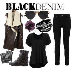 Black Denim