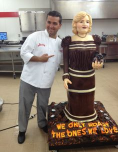 Betty White + Cake Boss = Magic.