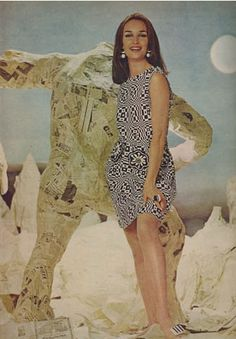Paper dress, 60's.