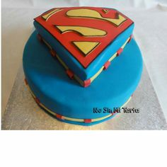 Tarta Superman Sin Gluten