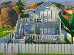 Created a cosy little home for 2 sims, or a single. Found in TSR Category 'Sims . Created a cosy little home for 2 sims, or a single. Found in TSR Category 'Sims 4 Residential Lot Sims 4 Family House, Sims 2 House, Sims 4 House Plans, Sims 4 House Building, Sims 4 House Design, Sims 4 Houses Layout, House Layouts, Sims 4 Loft, Sims 3