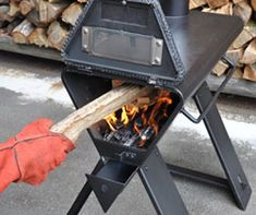 TOMY-3 Rocket Stove Water Heater, Rocket Stoves, Tent Stove, Camping Stove, Metal Projects, Welding Projects, Rocket Stove Design, Custom Fire Pit, Kitchen Oven
