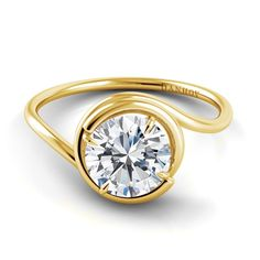 Our skilled jewelers create the swirled engagement ring by hand to ensure each one perfectly embraces the center stone. #Danhov Collection exclusively at #Capri #Jewelers #Arizona ~ http://www.caprijewelersaz.com/danhov ♥ #Financing Options ~ Upgrade & Update your old jewelry to new ~ Huge #Savings on center #Diamond with any #bridal purchase ~ No Credit Check Option & more ♥