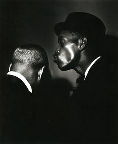 by Terry Cryer / Count Basie and Sonny Stitt.
