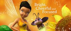 Light fairy IRIDESSA tries to look on the bright side when her friends welcome a forbidden creature to Pixie Hollow.