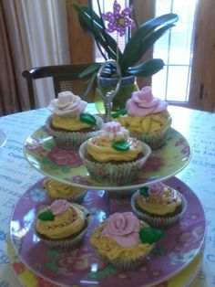 Mis Primeros Cupcakes de manzana y canela.