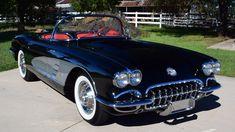 1958 Chevrolet Corvette Convertible Fuel Injected 283/290 HP, 4-Speed