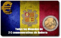 Todas las Monedas de 2 Euros Conmemorativas de Andorra