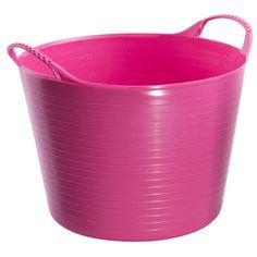 Tubtrugs 3.7 gal. Plastic Tubtrugs Flexibles Pink - 3305-0246