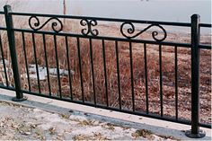 wrought iron fence ideas | Custom Ornamental Iron for Home, Garden and Business