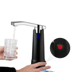 ==> [Free Shipping] Buy Best Electric Water Dispenser kitchen faucet drinking water Bottle pump Top Suction Unit Rechargeable drinkware supplies tools Online with LOWEST Price | 32802848064