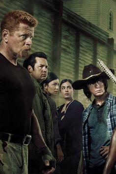 Abraham, Eugene, Rosita, Tara & Carl;  S6 Poster