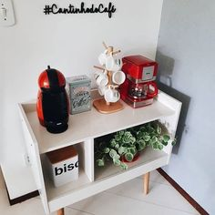 Coffee Bar Home, Home Coffee Stations, Coffee Corner, Office Coffee Station, Home Decor Kitchen, Diy Home Decor, Relaxation Room, Awesome Bedrooms, Decoration